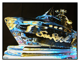 A photograph of a difficult subject, ice sculpture
